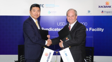 IFC Provides $65 Million to XacBank to Expand Lending to Small Businesses in Mongolia