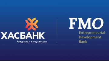 FMO arranges USD 100 Million syndicated loan to XacBank Mongolia