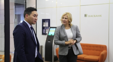 IFC VP for Asia and Pacific - Nena Stoiljkovic visits XacBank