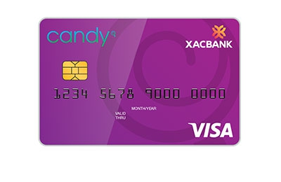 """Candy"" payment card"