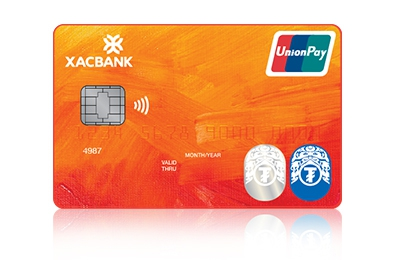 ₮ and Union Pay dual brand card